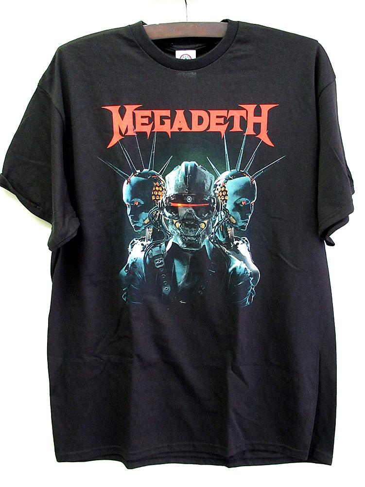 画像1: オフィシャル バンドTシャツ:MEGADETH DYSTOPIA ブラック
