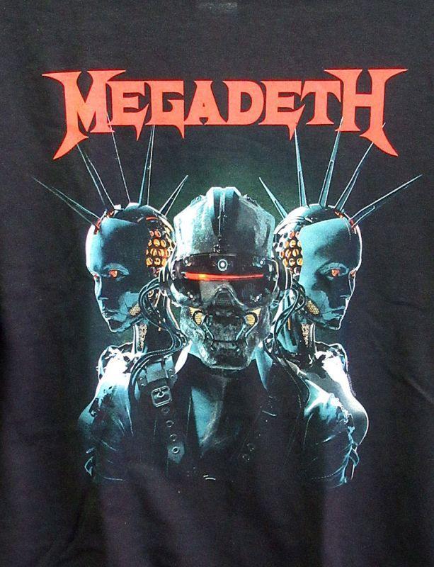 画像2: オフィシャル バンドTシャツ:MEGADETH DYSTOPIA ブラック