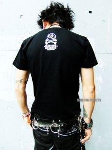 画像3: 【SALE☆50%OFF】パンク・ロック系Tシャツ:パンク ハートMDRスカル (3)
