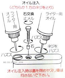 画像3: 日本製 オイル ライター デュークI ニッケルミガキ (3)