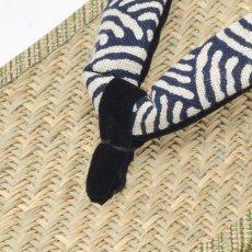 画像4: 大和工房:日本製雪駄 麻の葉柄 (4)