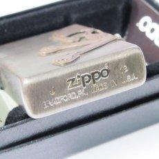 画像6: Zippoジッポーライター:サイド スカル メタル ユーズド フィニッシュ (6)