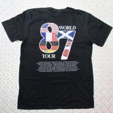 画像2: 【再入荷】オフィシャル バンドTシャツ:DEF LEPPARD World Tour 87 ブラック (2)