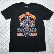 画像1: オフィシャル バンドTシャツ:GUNS N' ROSES NJ SUMMER JAM 1988 ブラック (1)
