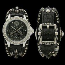 画像2: 【送料無料】ウォッチ 腕時計:ヴォルテージ VOLTAGE センチネル8 SENTINELVIII ブラック (2)