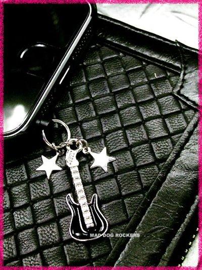 画像1: パンク・ロック系イヤホンジャック:Wスターギター