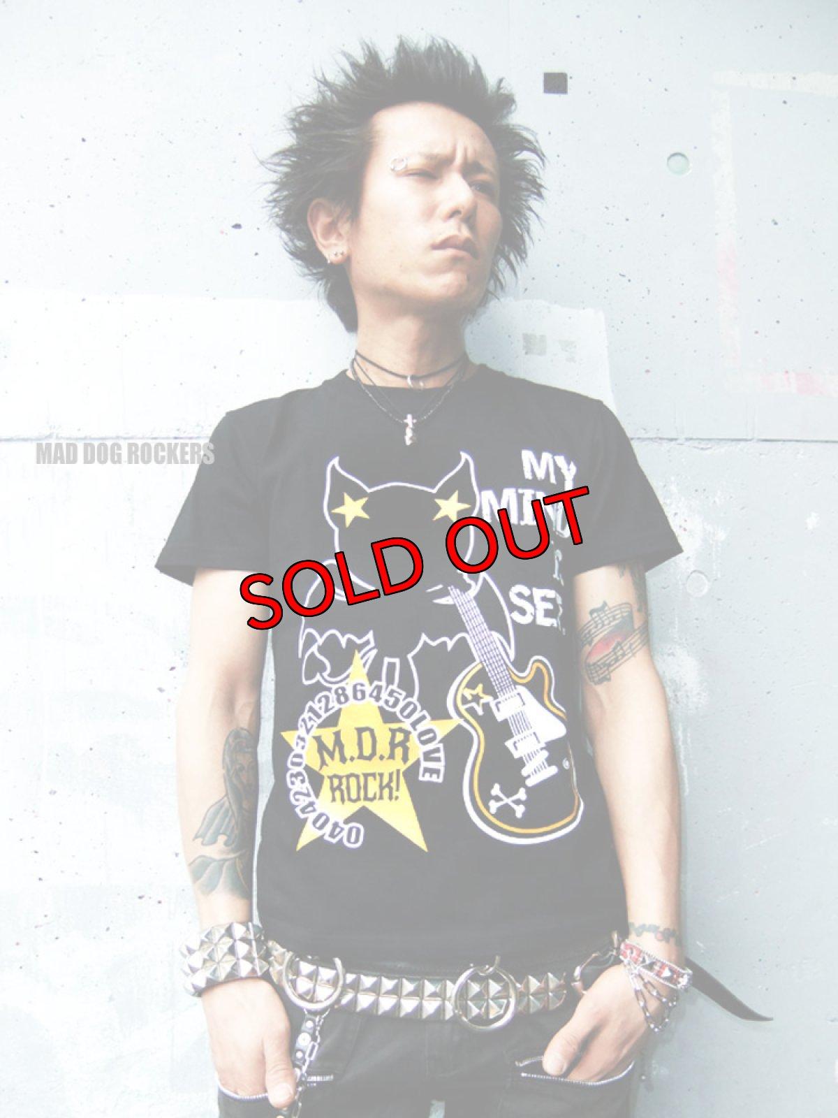 画像1: 【SALE☆50%OFF】パンク・ロック系Tシャツ:ロックスターヴァンパイアR (1)