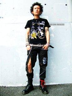 画像2: 【SALE☆50%OFF】パンク・ロック系Tシャツ:ロックスターヴァンパイアR (2)