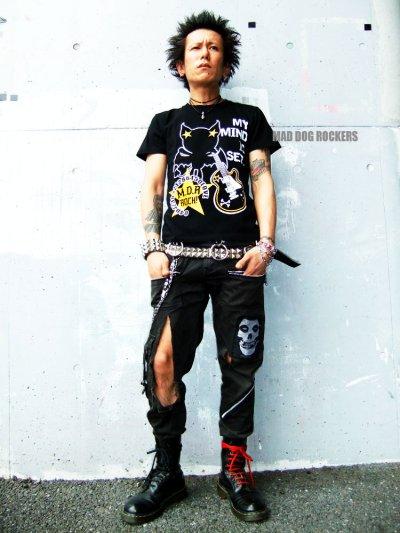 画像1: 【SALE☆50%OFF】パンク・ロック系Tシャツ:ロックスターヴァンパイアR