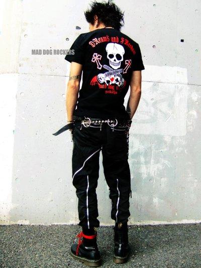 画像1: 【SALE☆50%OFF】パンク・ロック系Tシャツ:DReams and FReedom