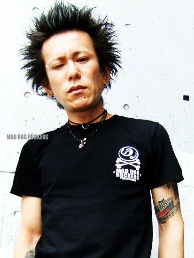 画像1: 【新商品(※SALE対象外※)】パンク・ロック系Tシャツ:般若 スカル