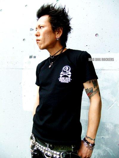 画像1: 【SALE☆50%OFF】パンク・ロック系Tシャツ:薔薇般若