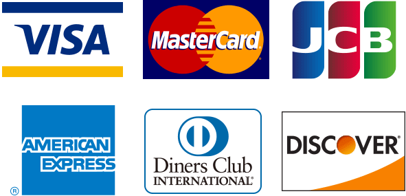 カード決済サービス・Square(スクエア)でご利用可能なカード