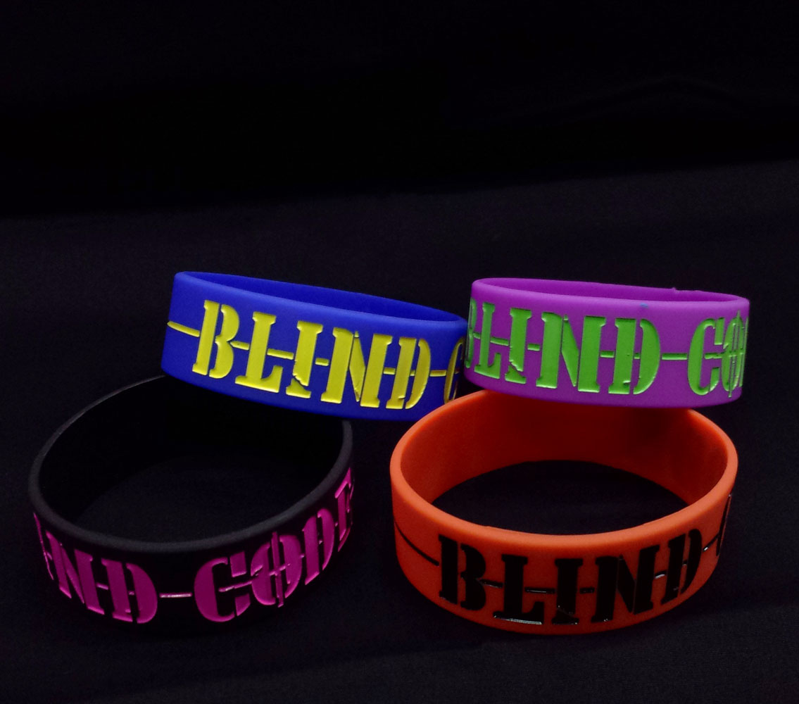 画像1: BLIND CODE:ラバーバンド (1)