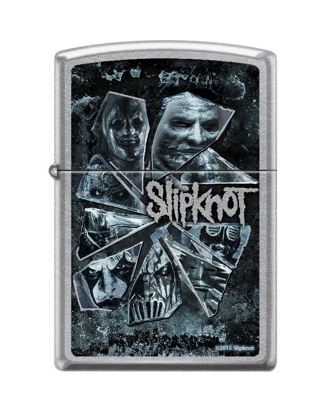 画像1: 【再入荷】Zippoジッポーライター:Slipknot スリップノット Broken Glass ブロークングラス (1)