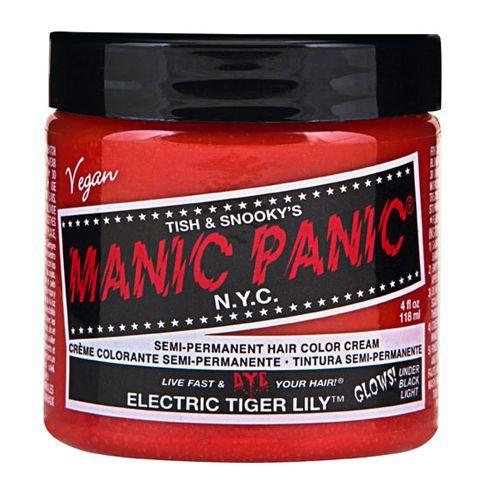 画像1: ヘアカラー:MANIC PANICマニックパニック[Electric Tiger Lily (エレクトリック タイガーリリー)] (1)