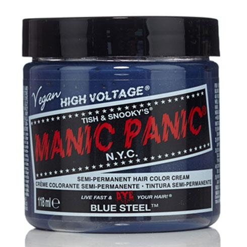 画像1: ヘアカラー:MANIC PANICマニックパニック[BLUE STEEL (ブルースティール)] (1)