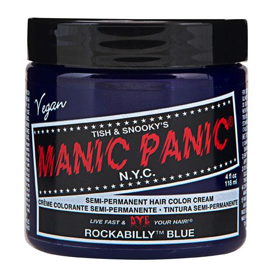 画像1: ヘアカラー:MANIC PANICマニックパニック[Rockabilly Blue (ロカビリーブルー)] (1)