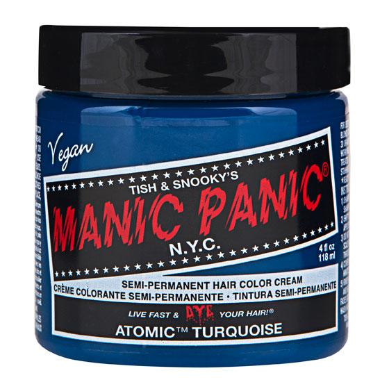 画像1: ヘアカラー:MANIC PANICマニックパニック[Atomic Turquoise (アトミック・ターコイズ)] (1)