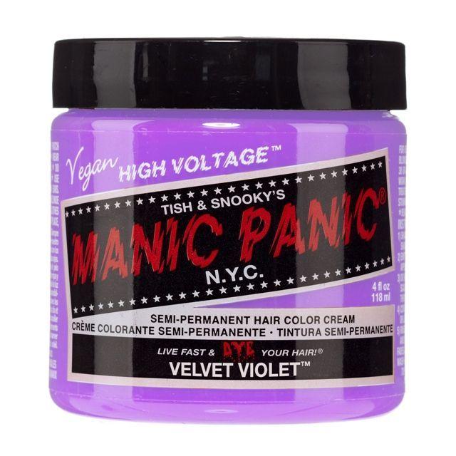 画像1: ヘアカラー:MANIC PANICマニックパニック[VELVET VIOLET (ベルベットヴァイオレット)] (1)