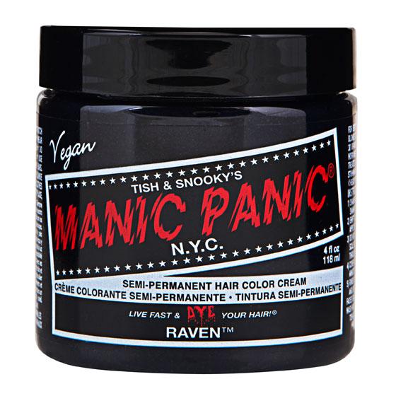 画像1: ヘアカラー:MANIC PANICマニックパニック[Raven (レイヴァン)] (1)