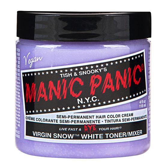 画像1: ヘアカラー:MANIC PANICマニックパニック[Virgin Snow (ヴァージン・スノー)] (1)