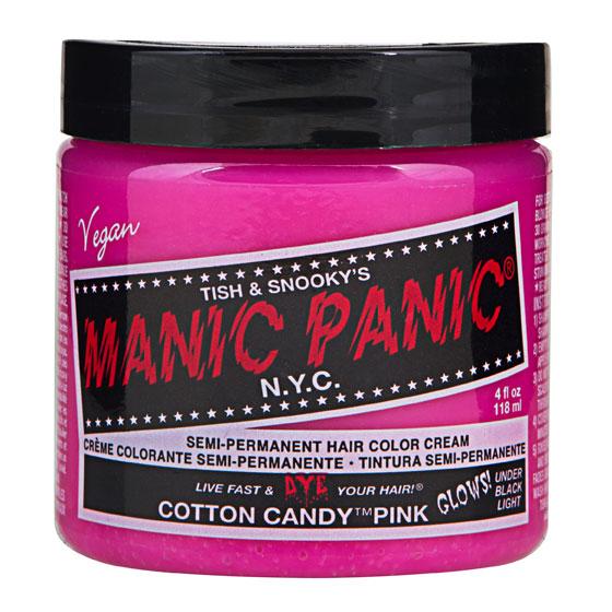 画像1: ヘアカラー:MANIC PANICマニックパニック[Cotton Candy Pink (コットン・キャンディー・ピンク)] (1)