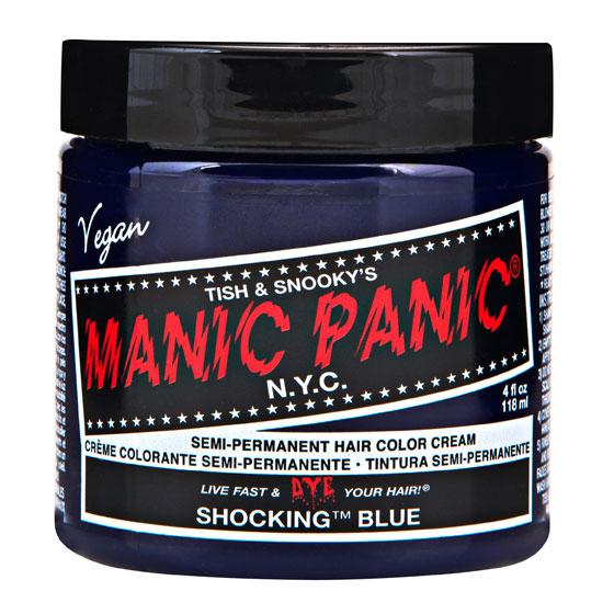 画像1: ヘアカラー:MANIC PANICマニックパニック[Shocking Blue (ショッキング・ブルー)] (1)