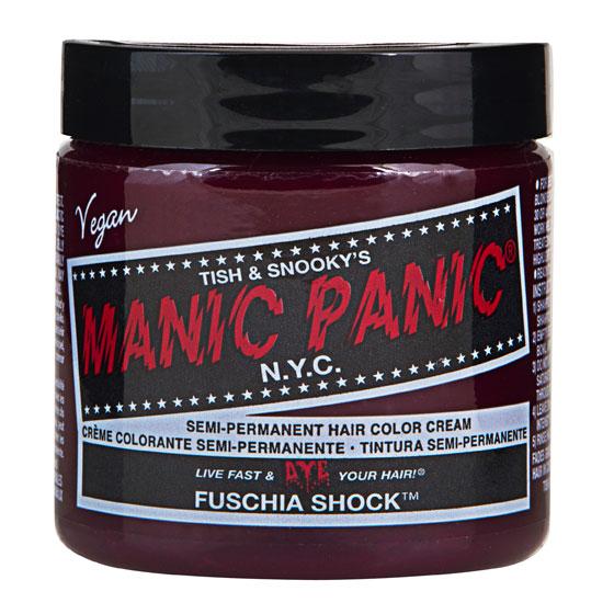 画像1: ヘアカラー:MANIC PANICマニックパニック[Fuschia Shock (フューシャ・ショック)] (1)