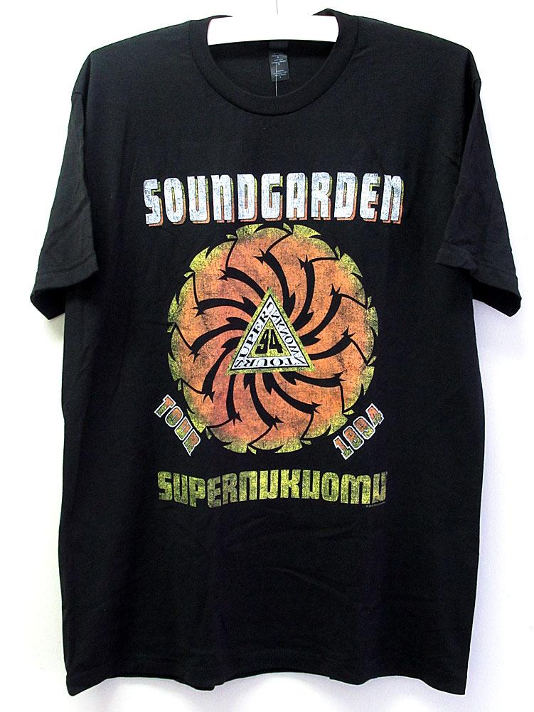 画像1: 【再入荷】オフィシャル バンドTシャツ:SOUNDGARDEN SUPERUNKNOWN TOUR 1994 ブラック (1)