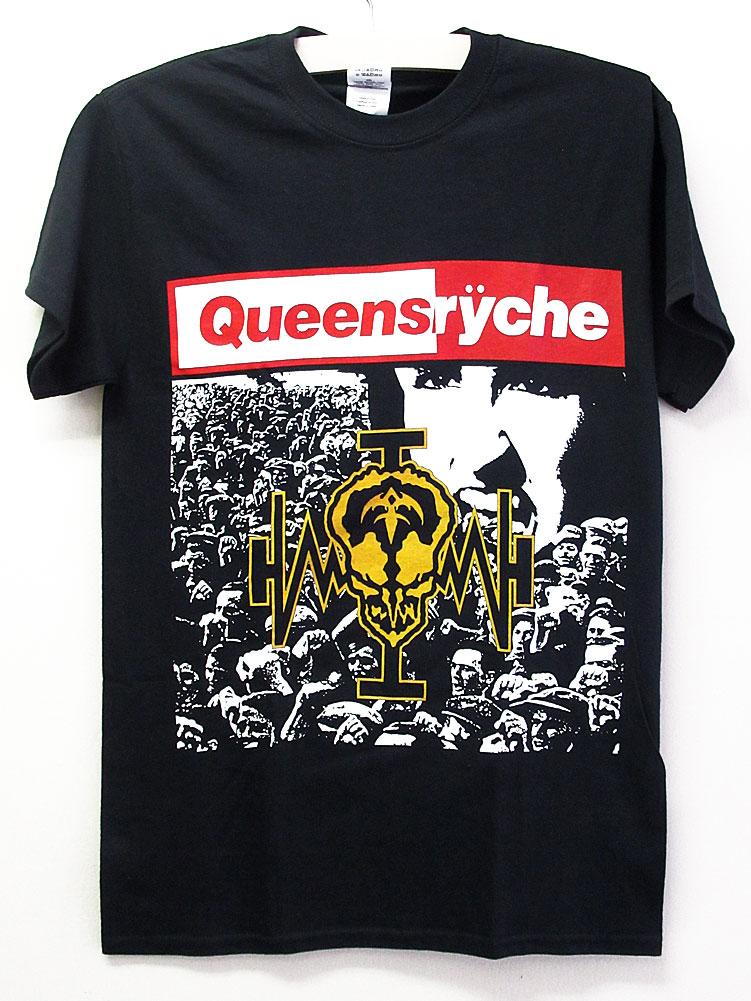 画像1: オフィシャル バンドTシャツ:Queensryche Operation Mindcrime ブラック (1)