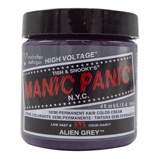 画像1: ヘアカラー:MANIC PANICマニックパニック[ALIEN GREY (エイリアングレイ)] (1)