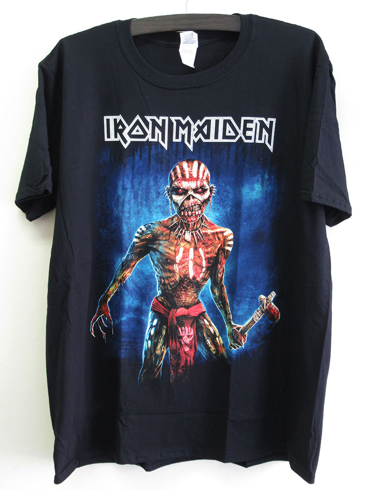 Iron Maiden /'The Book Of Souls Axes/' T-Shirt NEW /& OFFICIAL!