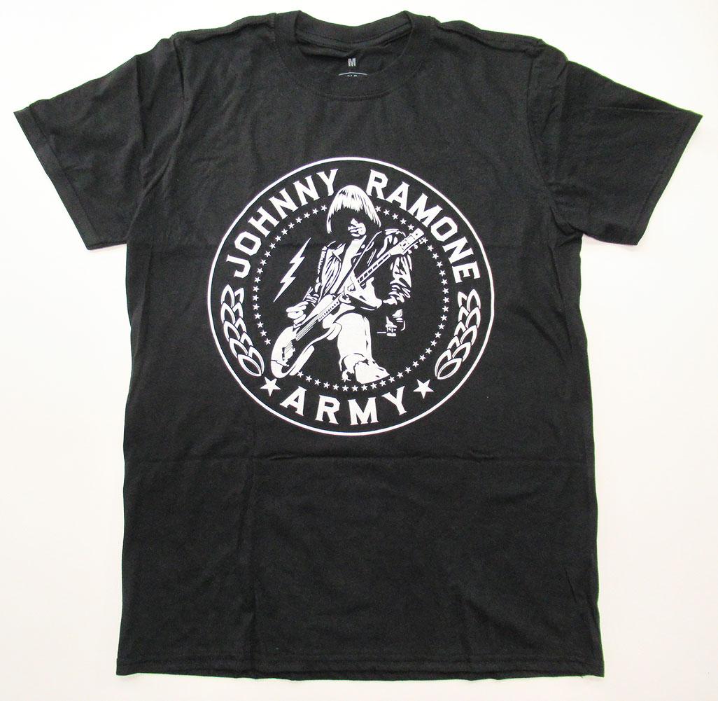 画像1: オフィシャル バンドTシャツ:RAMONES JOHNNY ARMY SEAL ブラック (1)