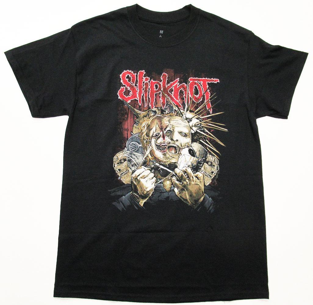 画像1: オフィシャル バンドTシャツ:SLIPKNOT Torn Apart ブラック (1)