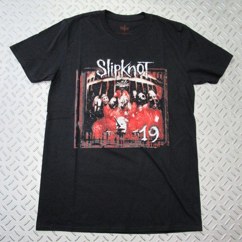画像1: 【再入荷】オフィシャル バンドTシャツ:SLIPKNOT Debut Album 19 Years ブラック (1)