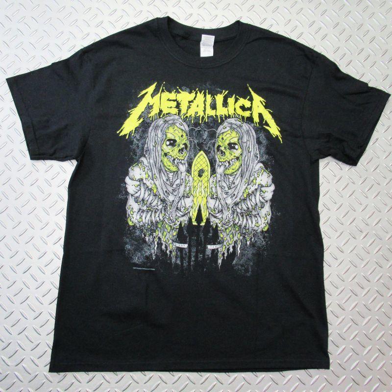 画像1: オフィシャル バンドTシャツ:METALLICA Sanitarium ブラック (1)