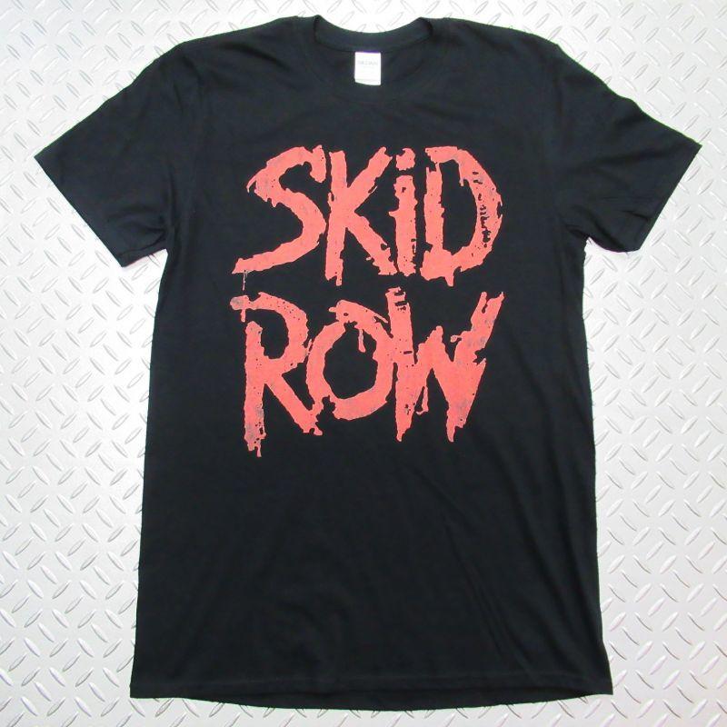 画像1: オフィシャル バンドTシャツ:SKID ROW 1991 SLAVE TO THE GRIND TOUR ブラック (1)