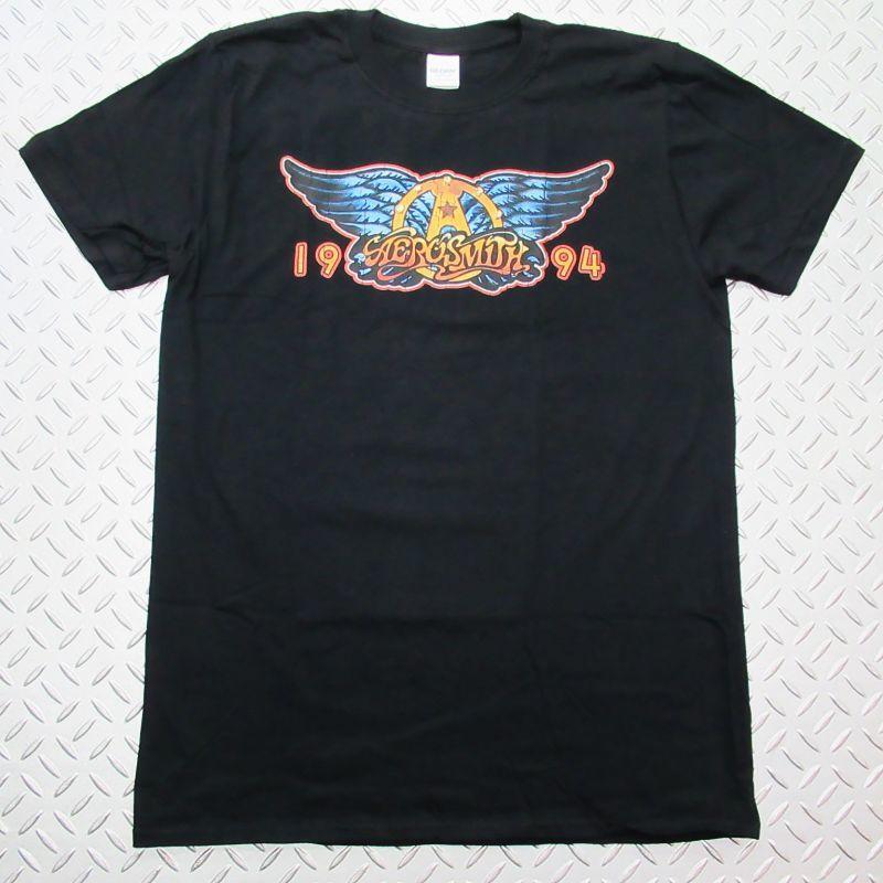 画像1: オフィシャル バンドTシャツ:AEROSMITH 1994 F&B ブラック (1)
