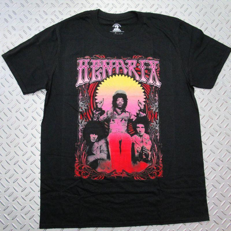 画像1: オフィシャル バンドTシャツ:JIMI HENDRIX Ferris Wheel ブラック (1)
