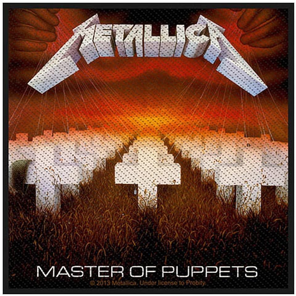 画像1: オフィシャル バンド ワッペン:Metallica MASTER OF PUPPETS (1)