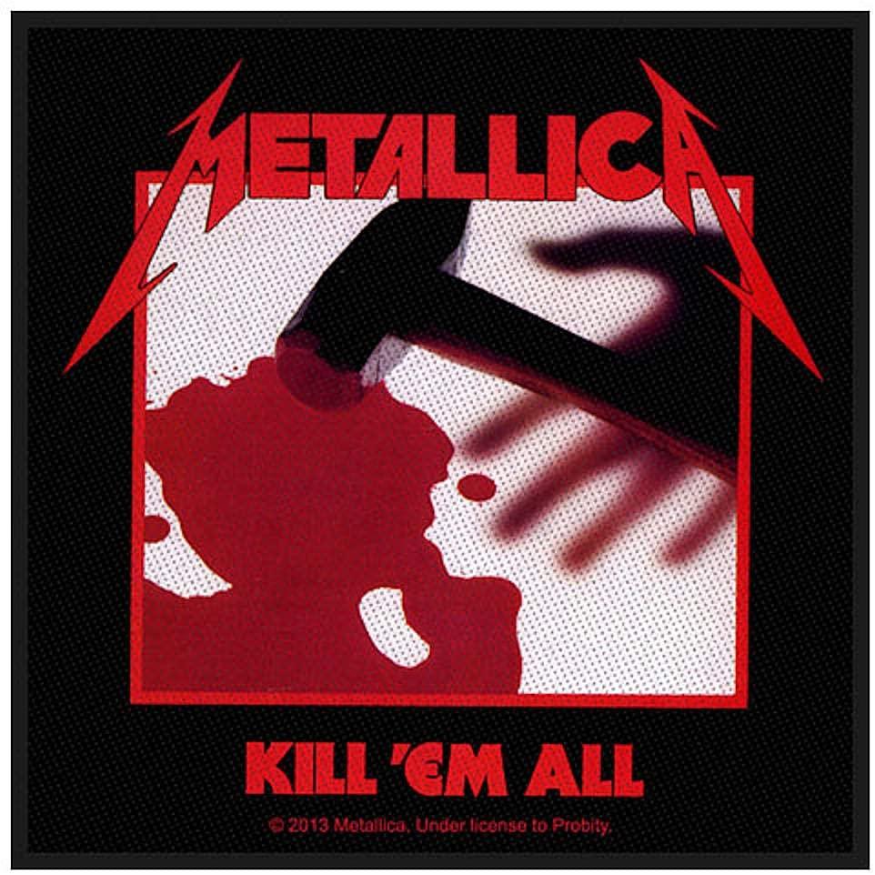 画像1: オフィシャル バンド ワッペン:Metallica KILL 'EM ALL (1)
