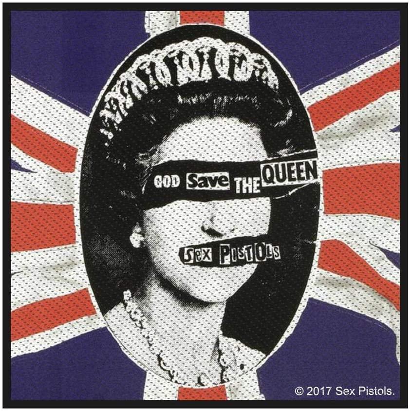 画像1: 【再入荷】バンド ワッペン:SEX PISTOLS God Save The Queen (1)