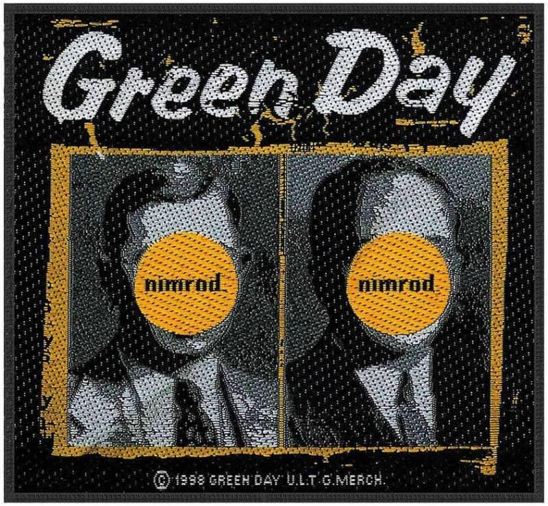 画像1: オフィシャル バンド ワッペン:GREEN DAY Nimrod (1)