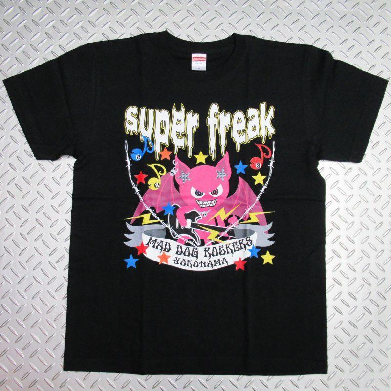 画像1: 【SALE☆50%OFF】パンク・ロック系Tシャツ:ヴァンパイアR super freak ブラック(黒)  (1)