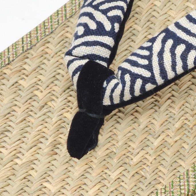 画像4: 【再入荷】大和工房:日本製雪駄 麻の葉柄